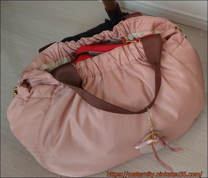 ルカルカのマザーバッグLサイズ(ジェリーのピンク)を購入!仕事用にも使えるよ